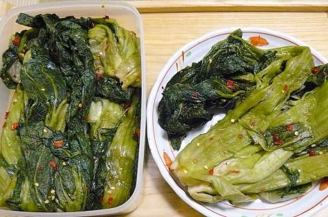 トマ婆の高菜漬け♪