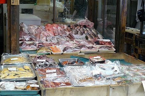 新鮮な魚がいっぱい♪