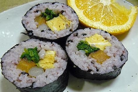 野菜の巻き寿司♪