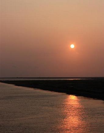 夕陽を観に♪