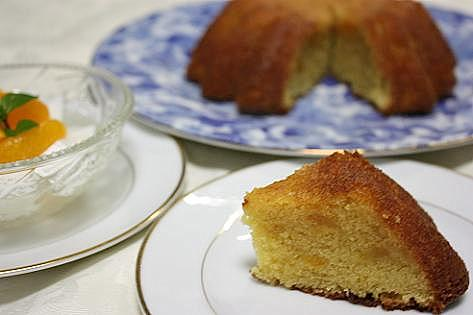 ビワのケーキ♪