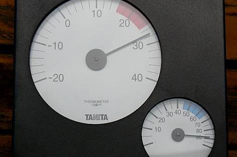 2℃下がった♪