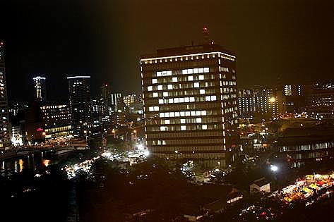 北九州市の祭りの夜♪