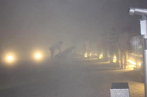霧の展望台♪