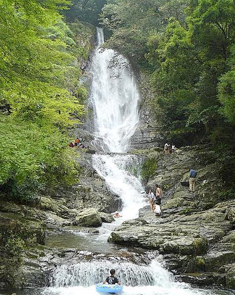 菅生の滝♪