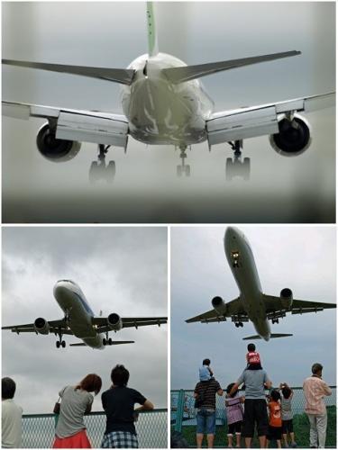 飛行機ぶ~ん