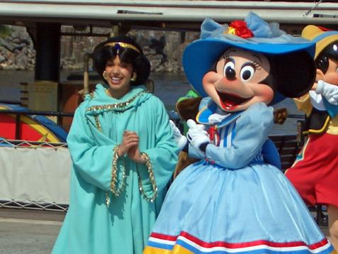 ミニーちゃん&ジャスミン