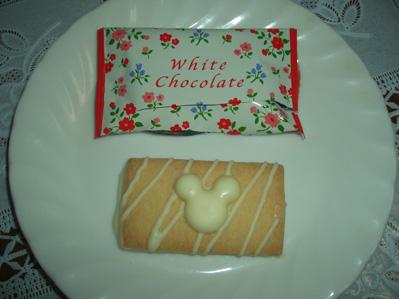 ミッキーのクッキー