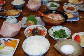 民宿の料理3