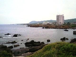 野島崎灯台からの眺め