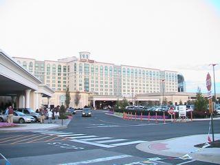 サーキット沿いのDover Downs Hotel and Casino