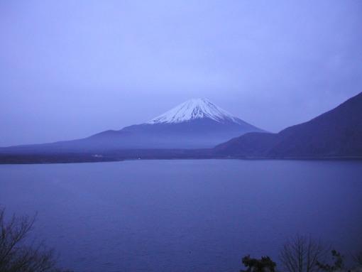 3年前の富士山
