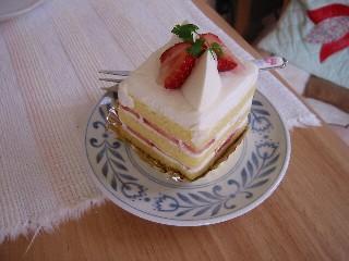 ガトー・ド・ボワイヤージュのケーキ