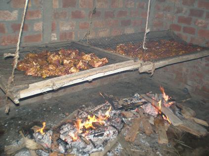スモーク肉