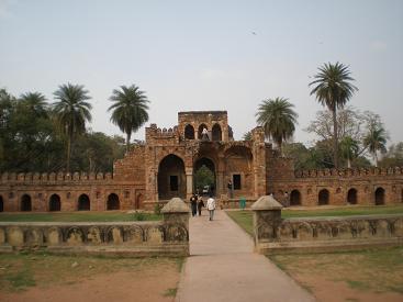 Humayun Tomb 4