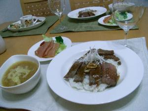 9.1結婚記念日料理