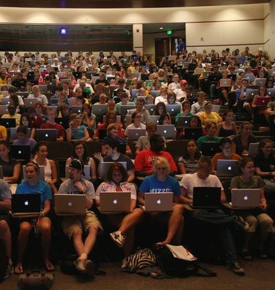 授業でのパソコン