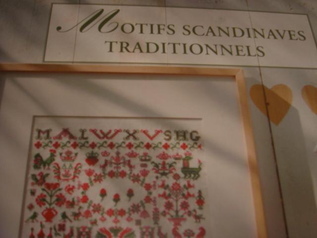 Salut Motifs scandinaves traditionnels
