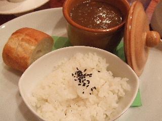 牛すじと大豆のカレー