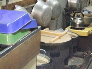 豆 煮る 釜