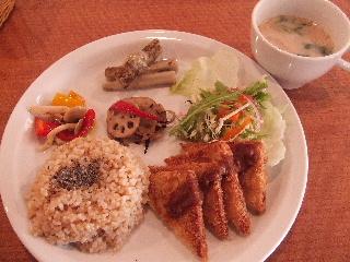vegegarden lunch