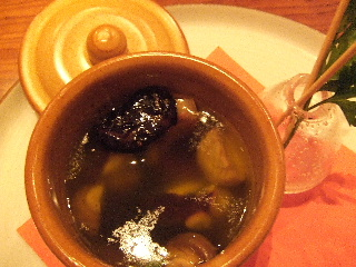紫花豆 ガーリックオイルで焼いて