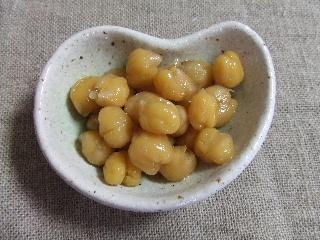 ヒヨコ豆の煮豆