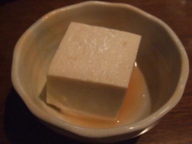 豆藤の柚子豆腐
