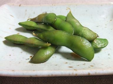 枝豆しょうゆ漬け