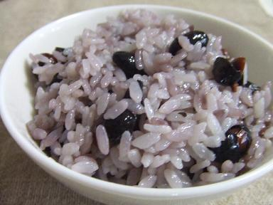 黒豆ご飯(柔らかめ)