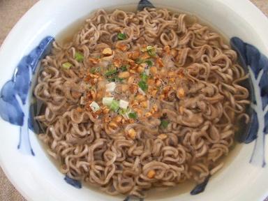 納豆そば ノンカップ麺