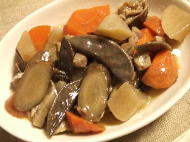 八升豆の煮物