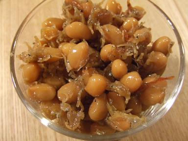 京都土産 やよいえびじゃこ豆