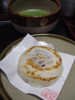 お石茶屋 梅ケ枝餅