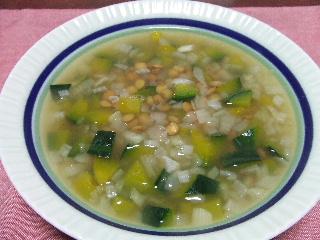 レンズ豆とかぼちゃのスープ