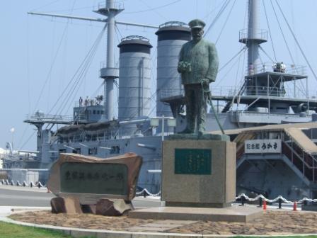 三笠と東郷
