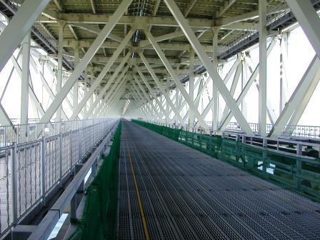 明石海峡大橋 キャットウォーク