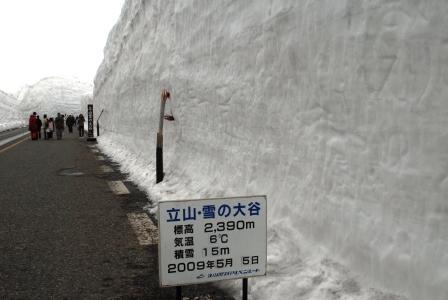 雪の大谷①