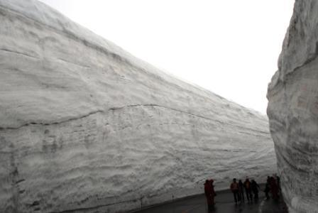 雪の大谷②