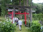 南部藩の駒形神社里宮