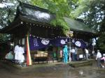 雨の鹽竃神社例祭