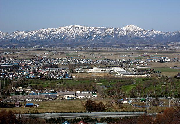 4月20日石狩平野