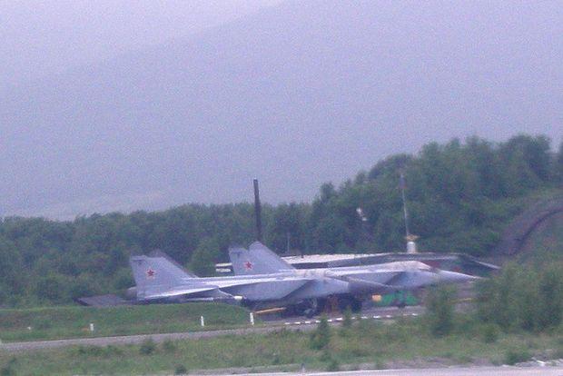 ロシア空軍機