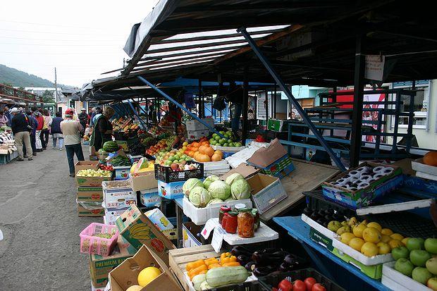 エリゾボの市場