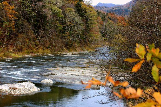 10月170日芦別三段の滝No2