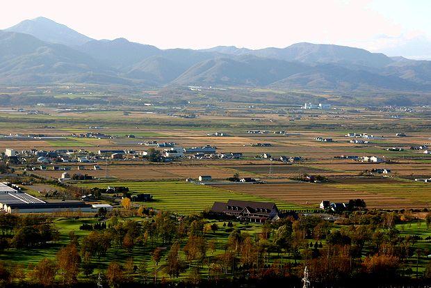 10月25日石狩平野の秋