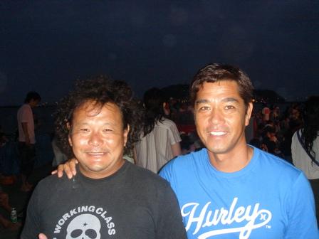 shujisann and myself