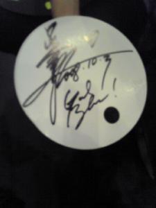 ヴェネのサイン