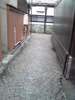 神楽坂 石畳