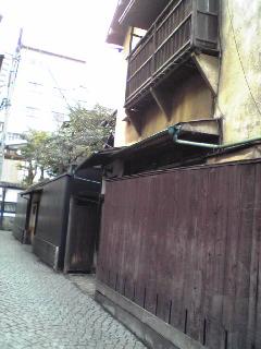 神楽坂 塀